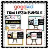 Gogokid Trial Lesson BUNDLE