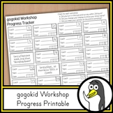 Gogokid Workshop Progress Tracker | A FREE Tool for Teachers