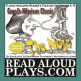 """Gogol's Classic Short Story: """"The Nose"""" Reader's Theater P"""