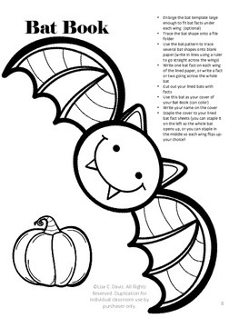 Goin' Batty! Research Activity Menu for Gifted or Enrichment