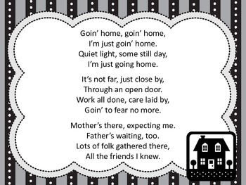 Goin Home - a rhythmic follow-along for dotted quarter note