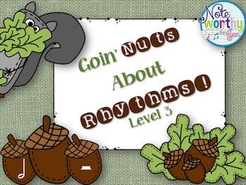 Goin' Nuts About Rhythm {Half Rest}