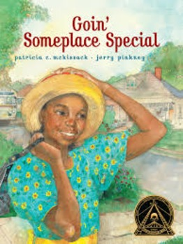 Goin' Someplace Special Reading Guide (Common Core aligned)