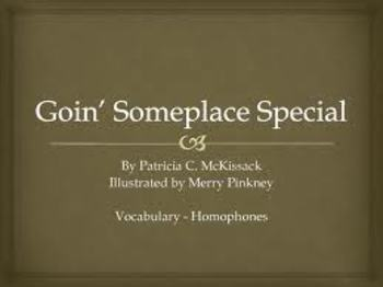 """Goin Someplace Special"" Treasures Reading"
