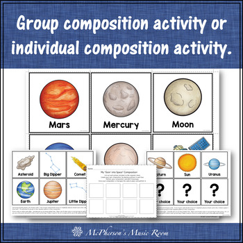 Orff Lesson ~ Goin' into Space: Orff, Instruments, Rhythm & Composition