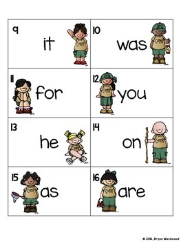 Goin' on a Sight Word Hunt!