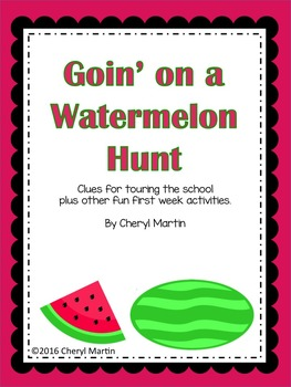 Goin' on a Watermelon Hunt