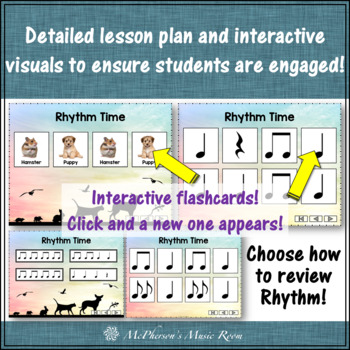 Goin' to the Pet Store: Orff, Instruments, Rhythm and Composition