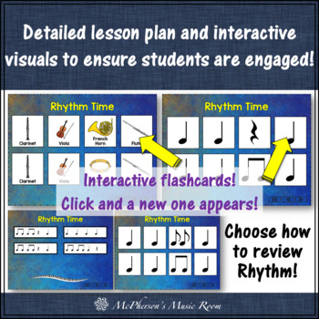 Orff Lesson ~ Goin' to the Symphony: Orff, Instruments, Rhythm & Composition