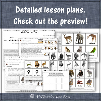 Goin' to the Zoo: Orff, Instruments, Rhythm and Composition