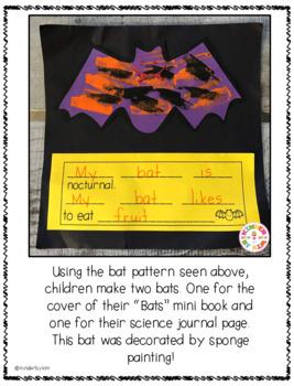 """Going A"""" Little Batty"""" Literacy Center Fun Pack"""