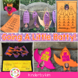 "Going A"" Little Batty"" Literacy Center Fun Pack"
