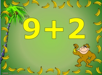 Going Ape Over Addition - Electronic Flashcards