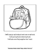 K5 Going Back To School Coloring Packet: Summer Transitioning
