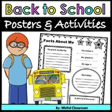 Back to School Activities and Posters