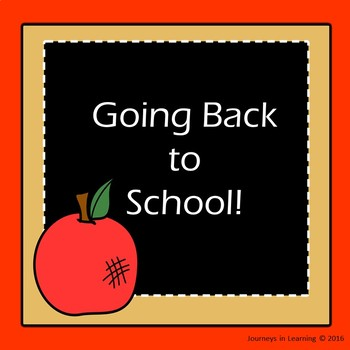 Going Back to School!