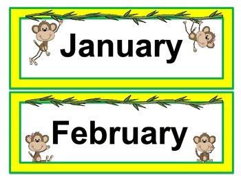 Going Bananas Calendar Kit