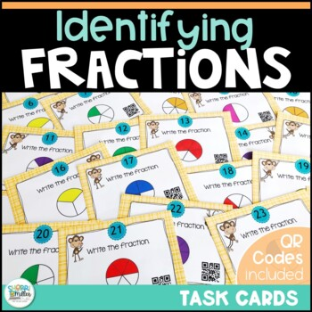 Going Bananas Over Naming Fractions Task Cards