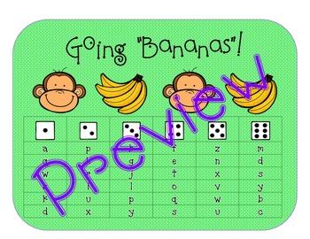 """Roll & Read:  Going """"Bananas""""! for Bananas! Bananas! and Mixed-Up Bananas!"""