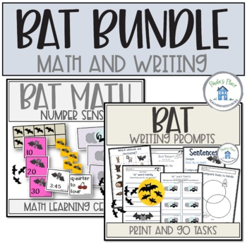 Bat Bundle for Writing and Math