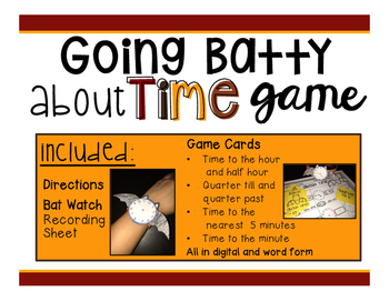 Going Batty About Time Game