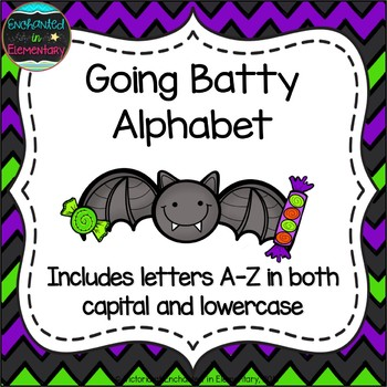 Going Batty Alphabet! Letter and Sound Recognition Game