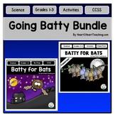 Bats Bundle - Fall Centers with Activities, Flip Book, Pow