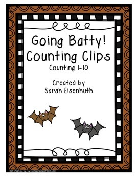 Going Batty! Counting Clips 1-10