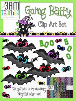 Going Batty Custom Graphics Collection