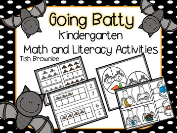 Going Batty Math and ELA Activities