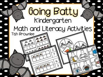 Going Batty Math and ELA Activities