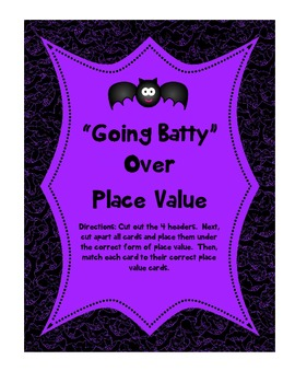 Going Batty Over Place Value