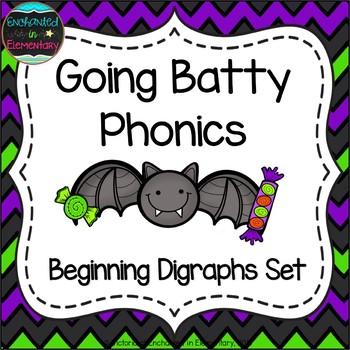 Going Batty Phonics: Beginning Digraphs Pack