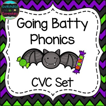 Going Batty Phonics: CVC Words Pack