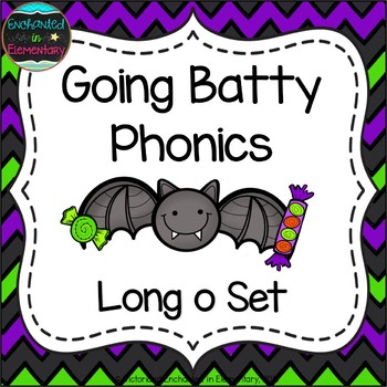 Going Batty Phonics: Long O Pack