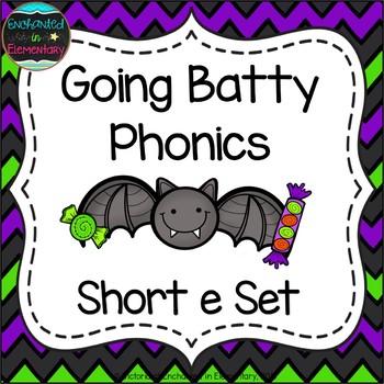Going Batty Phonics: Short E Pack