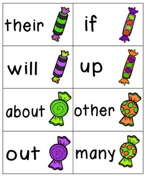 Going Batty Sight Words! Bundle of Fry Lists 1-3
