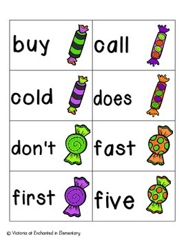 Going Batty Sight Words! Second Grade List Pack