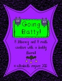 Going Batty for Centers ~ 16 Math and Literacy Centers Per