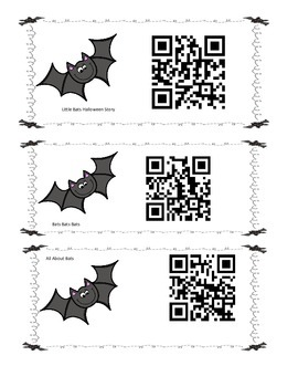 Going Batty for QR codes
