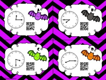 Going Batty for Telling Time: A 2nd Gr CCSS Aligned Differentiated Math Center