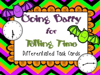 Going Batty for Telling Time: A 2nd Gr CCSS Aligned Differ