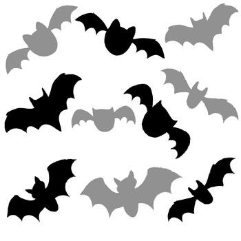 Going Batty over Bats Clip Art