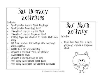 Going Batty with Bats Informative