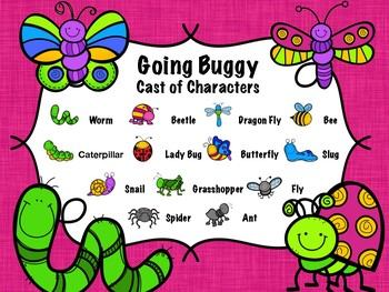 Going Buggy - 6 Stations for the Orff or Kodaly music classroom