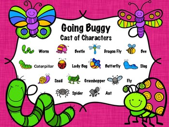 Going Buggy - A Rhythm Concentration Game. Pre-Reading