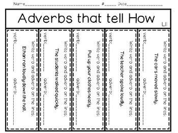 Going Buggy About Adverbs That Tell How