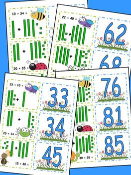 Going Buggy Adding Tens Center CCSS Numbers and Operations in Base 10