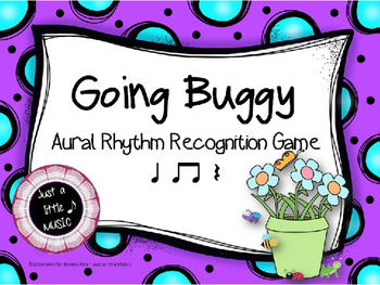 Going Buggy--Aural Rhythm Recognition Game {ta titi rest}