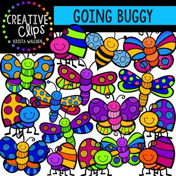 Going Buggy {Creative Clips Digital Clipart}